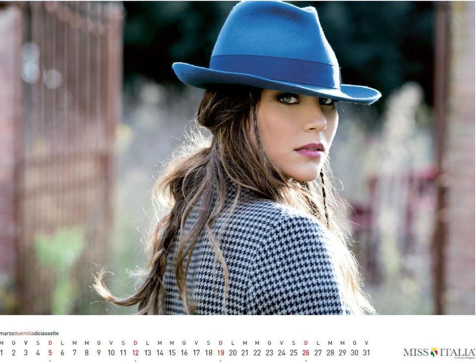 Miss Italia, il Calendario Di Rachele Risaliti: è gratis, ecco come averlo