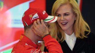 Ferrari: ai paddock c'è Nicole Kidman
