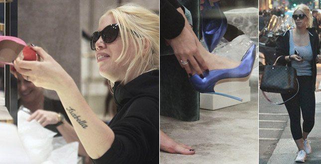 Wanda Nara, lo shopping di scarpe è super se. xy. Senza figli… tra i piedi