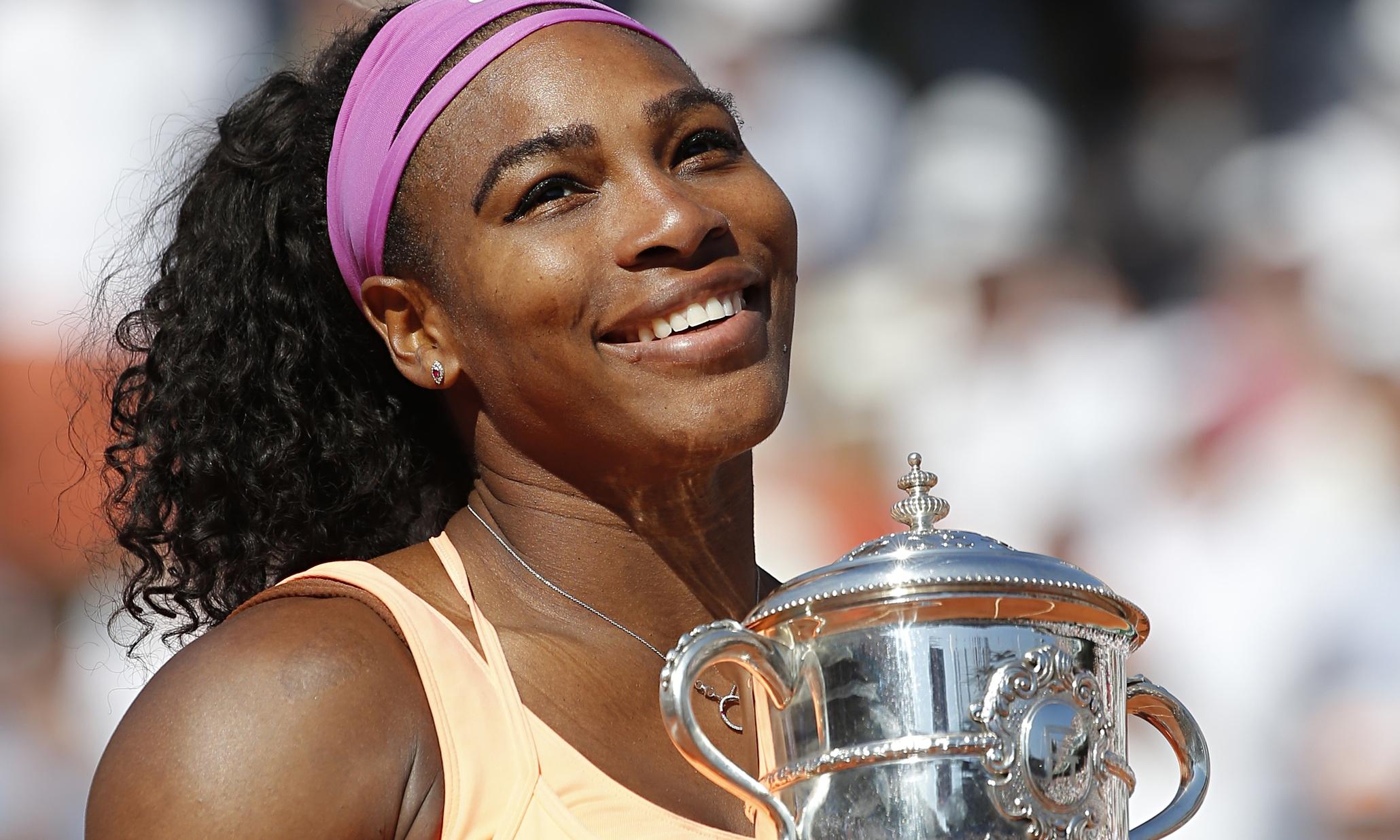 Serena Williams scrive una lettera commovente al suo futuro bambino