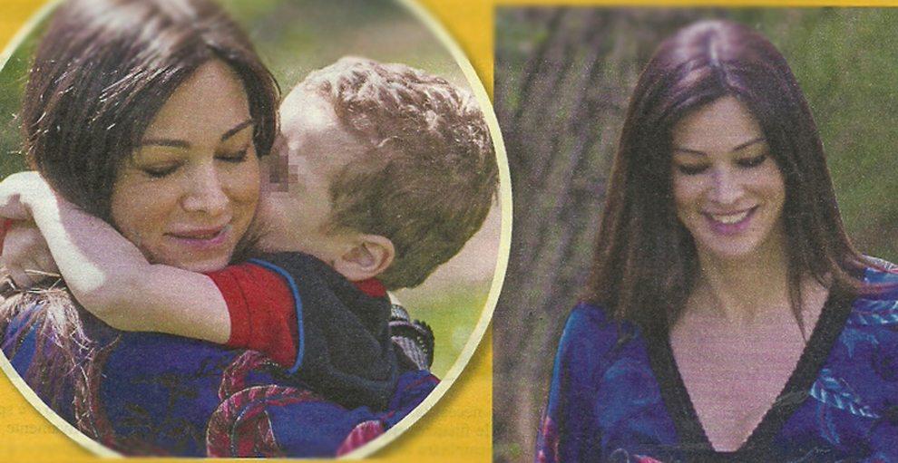 """Manuela Arcuri tenera mamma col piccolo Mattia: """"Adesso un altro figlio"""""""