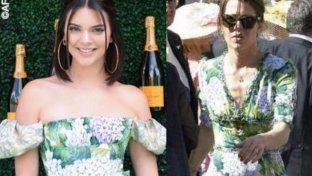 Le star in fiore con le ortensie Dolce&Gabbana