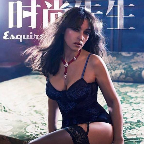 Monica Bellucci, bellezza senza confini: la sua sensualità conquista anche i cinesi
