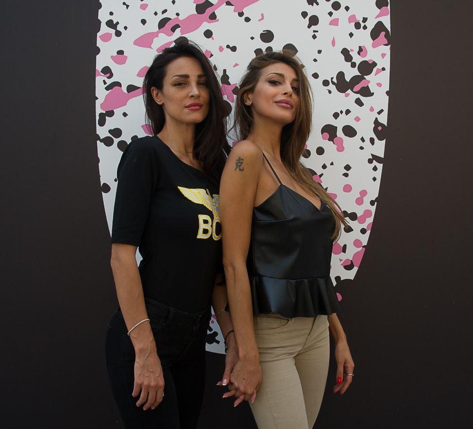 Cristina e Maria Teresa Buccino, sexy star al Pitti
