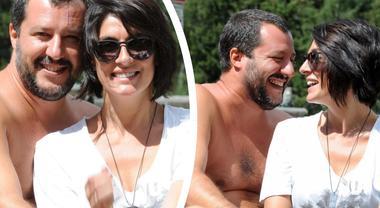 Salvini-Isoardi, amore e sorrisi al comizio. La crisi è ormai superata