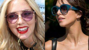 Rotondi, colorati, a goccia… occhiali da star