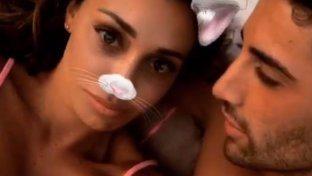 Belen fa la gattina con Andrea Iannone