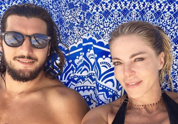 Claudia Gerini e Andrea Preti, estate d?amore a Ibiza