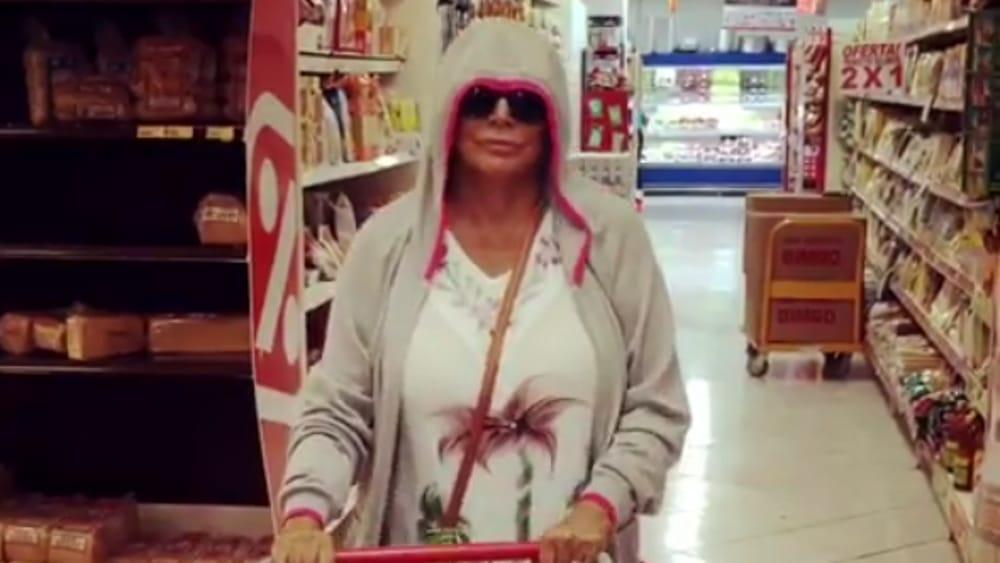 Mara Venier, casalinga disperata a Santo Domingo