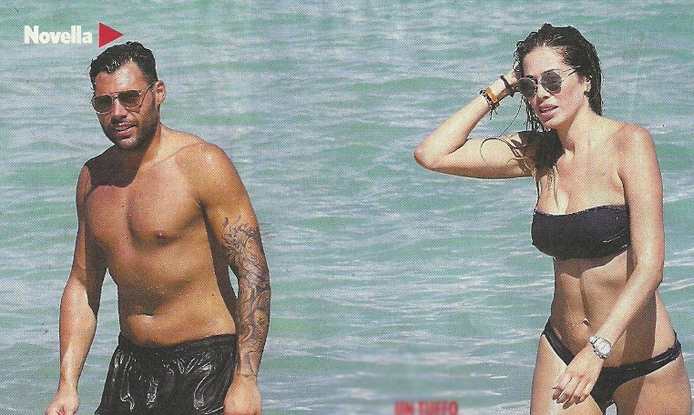 Grande Fratello Vip, Aida Yespica prima della reclusione: vacanze a Miami col nuovo fidanzato
