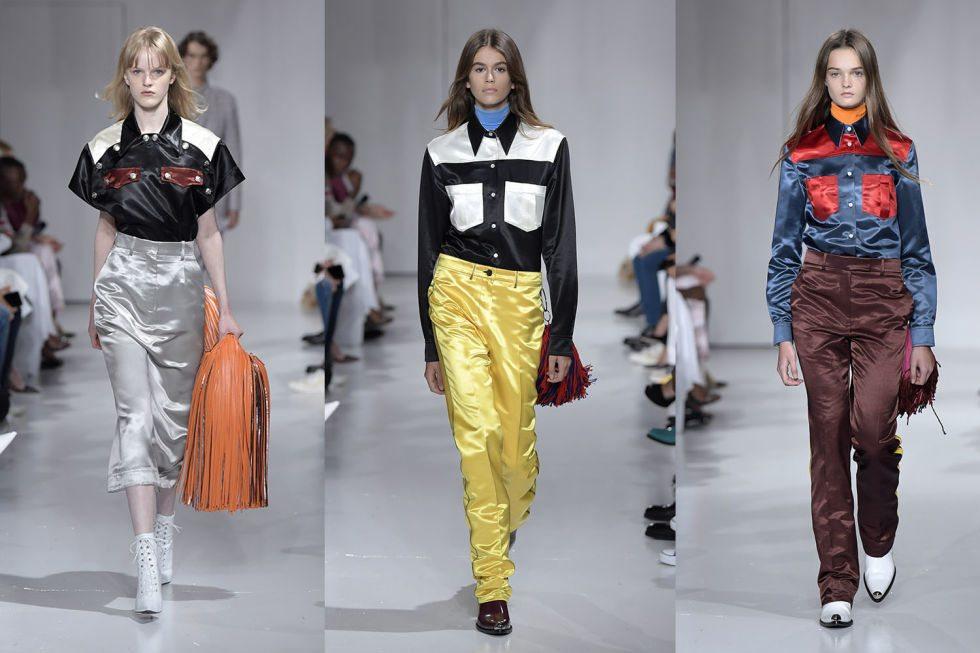 Moda: la collezione di Calvin Klein per la prossima primavera-estate