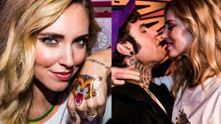 """Chiara Ferragni """"indossa"""" i tattoo di Fedez"""