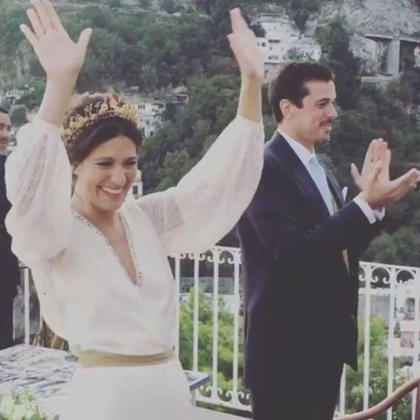 Giulia Bevilacqua si è sposata: guarda l?album delle nozze a Positano