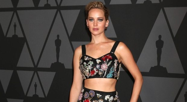 Jennifer Lawrence hackerata: