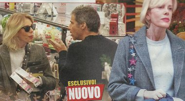 """Alessia Marcuzzi, shopping di Natale in famiglia: """"A cena ci saranno gli ex e le compagne"""""""