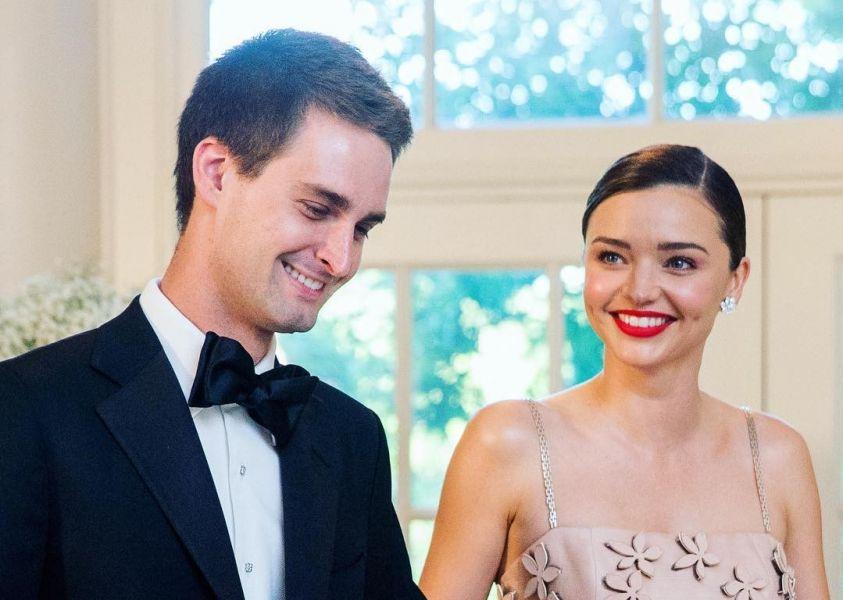 Miranda Kerr è in dolce attesa, primo figlio con Evan Spiegel
