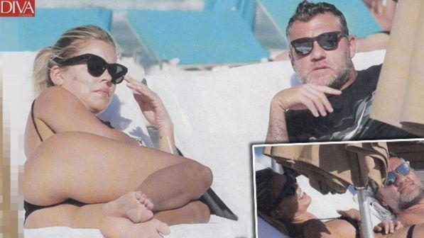 Bobo Vieri e Costanza Caracciolo ripartono sotto il sole di Miami