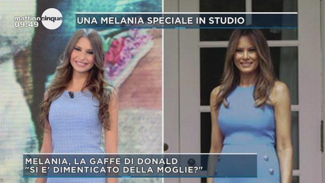 Sarah Altobello è la sosia italiana di Melania Trump