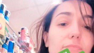 Caterina Balivo, casalinga disperata: senza trucco al super