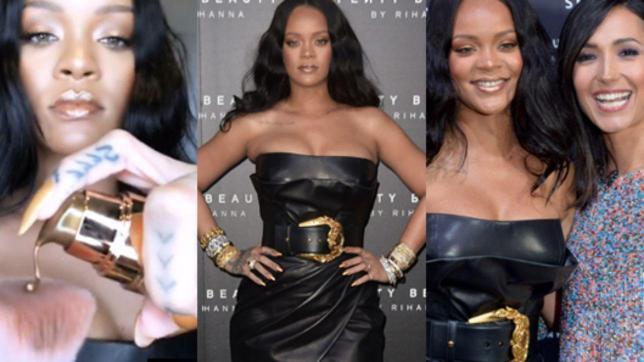 Rihanna presenta a Milano Fenty Beauty