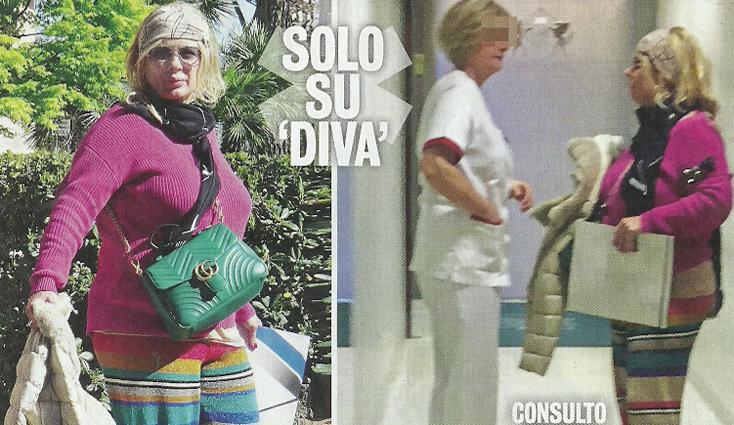 U&D, Tina Cipollari scende dal trono: vestiti variopinti per la visita dal dottore