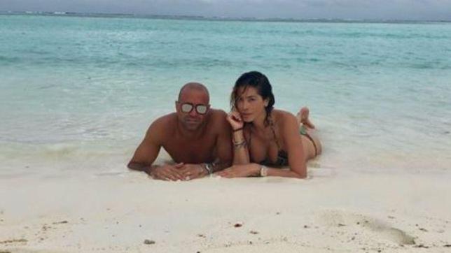 Aida Yespica, vacanze d?amore con Matteo
