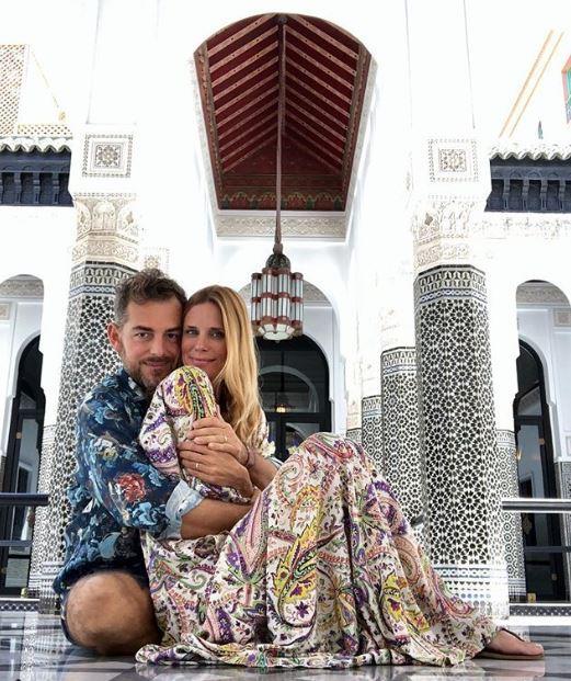 Daniele Bossari e Filippa Lagerback, gli scatti social della luna di miele in Marocco
