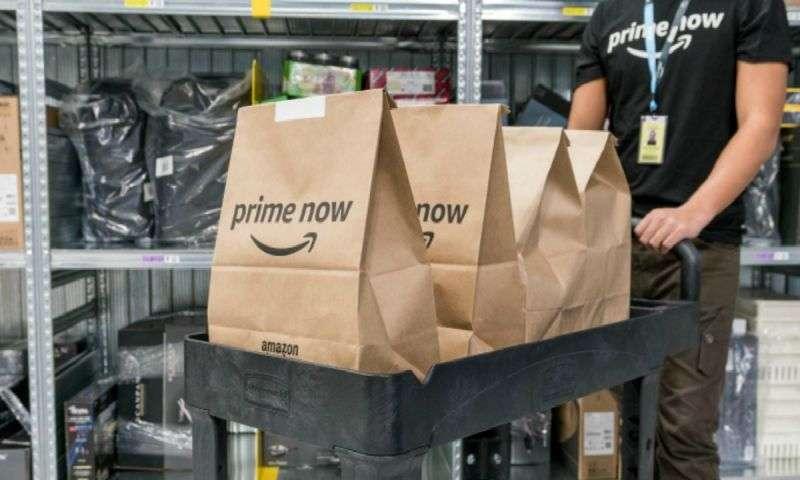 Amazon Prime Now arriva a Roma: da oggi si può fare la spesa con un'app