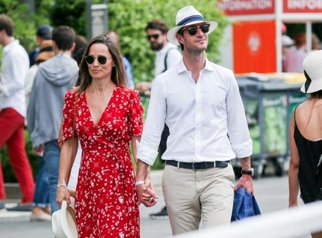 Pippa Middleton è mamma, la sorella di Kate ha dato alla luce un maschietto