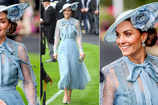 "Kate Middleton se la ride con le ""cugine"" al Royal Ascot. E c?è anche la Galanti"