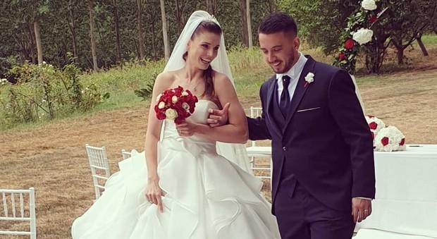 Cecilia Salvai, la calciatrice della Juve si è sposata col suo Marco Borgese