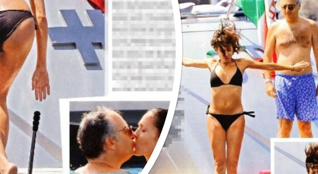 Mara Carfagna, tuffi dallo yacht e baci in acqua: l'estate all'Argentario è indimenticabile