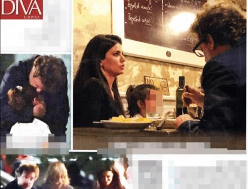 Leonardo Pieraccioni e Laura Torrisi a cena insieme, con Martina sono una famiglia