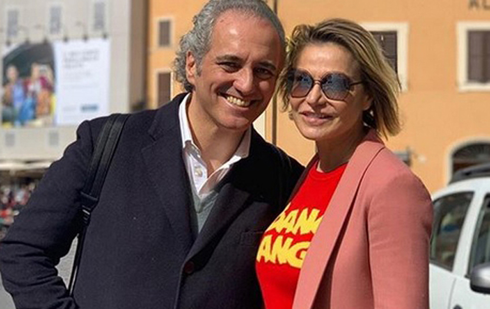 Simona Ventura e Giovanni Terzi sposi: «Amore inaspettato, speravo finalmente di rimanere single»
