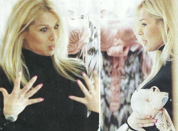 Giulia Montanarini incinta a 44 anni: «Col mio compagno ci abbiamo provato ed è arrivata subito»