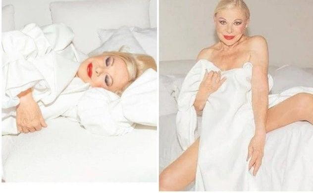 Sandra Milo si spoglia e regala una cover sensuale... a 87 anni
