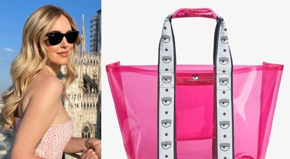 Chiara Ferragni lancia la borsa in plastica da mare. Ecco il prezzo da capogiro. Fan delusi: «È una follia»