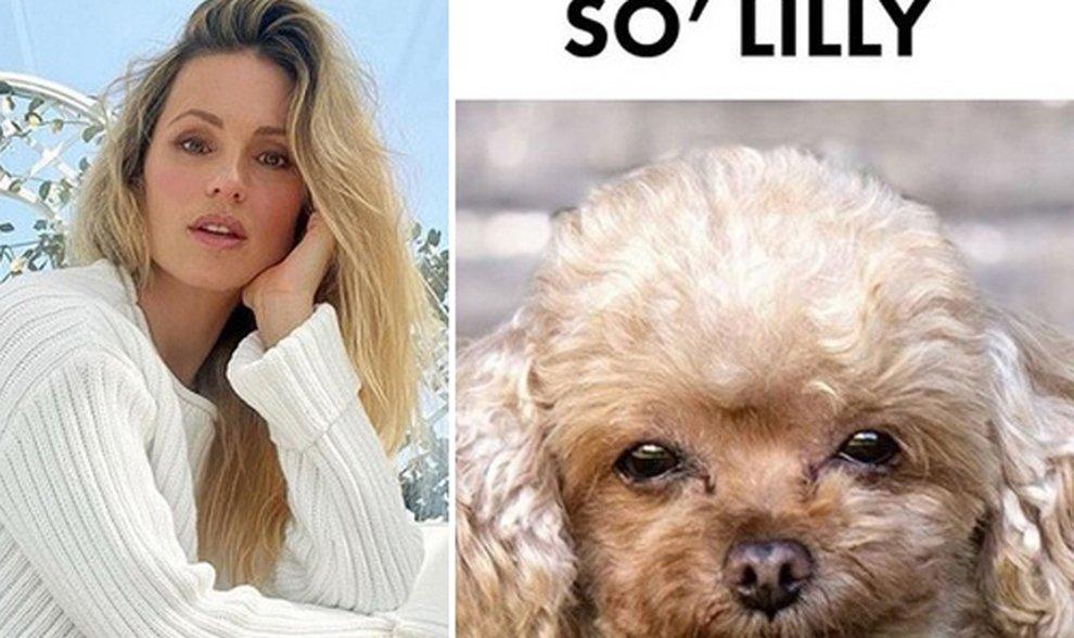 Michelle Hunziker e il post col cane che conquista Instagram: «So' Lilly»