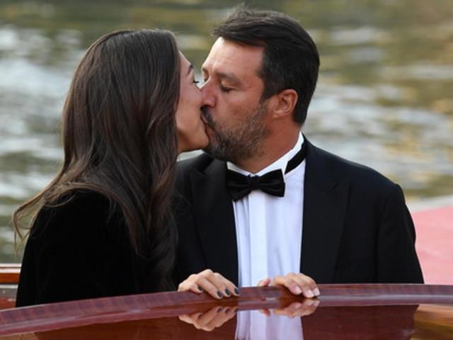 Matteo Salvini e Francesca Verdini innamorati a Venezia