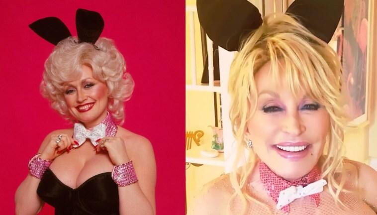Dolly Parton rientra nelle vesti di coniglietta di