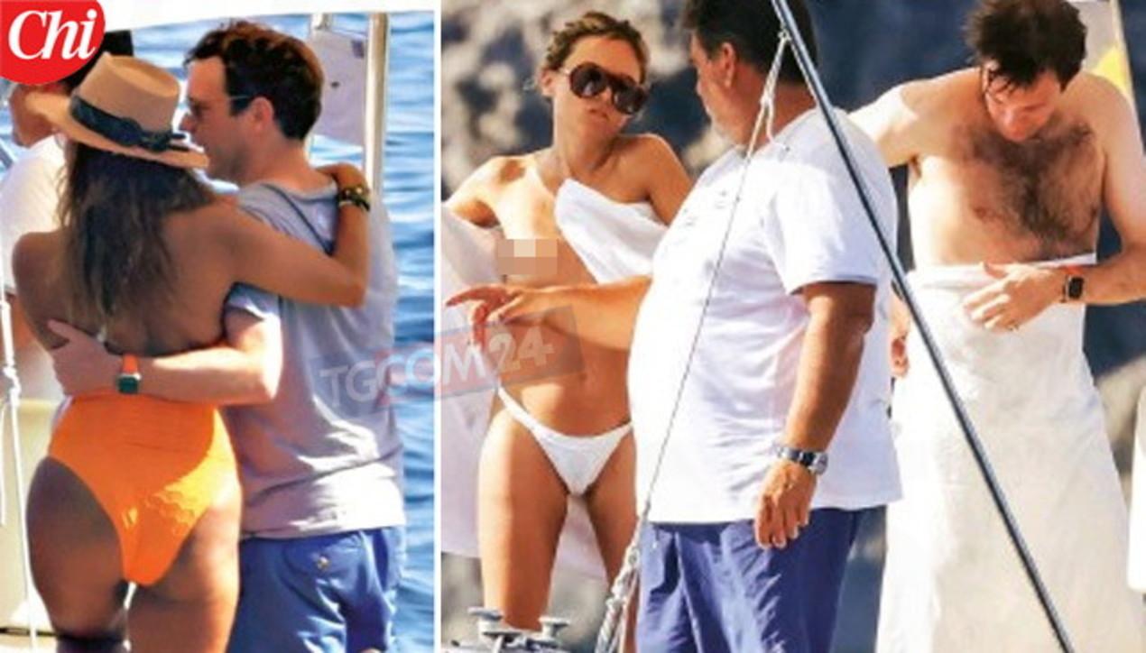 """Tradimenti """"reali""""? Guarda il marito di Eugenia di York a Capri tra modelle e topless"""