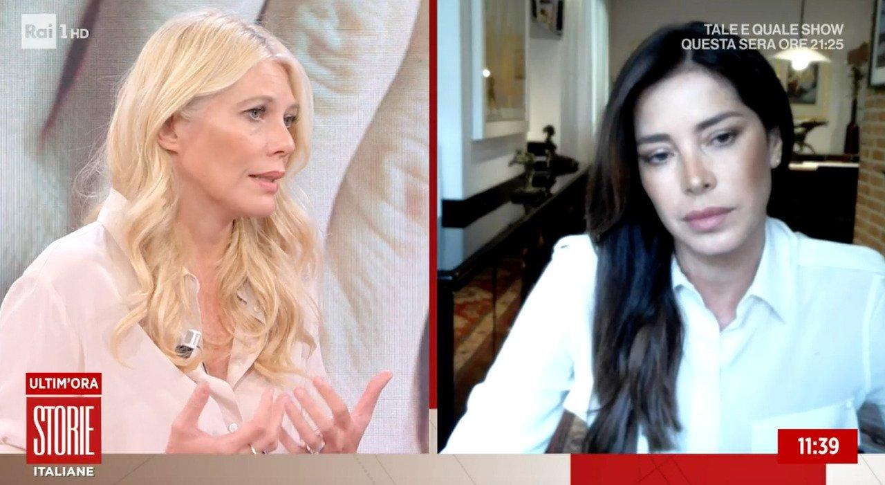 Aida Yespica in lacrime a Storie Italiane: «Lo stupro a 7 anni? Ecco perché non ho parlato finora...»