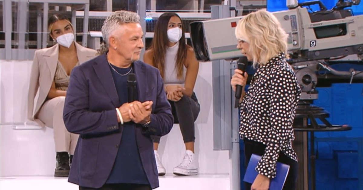 Roberto Baggio tra gli ospiti speciali della prima puntata di Amici