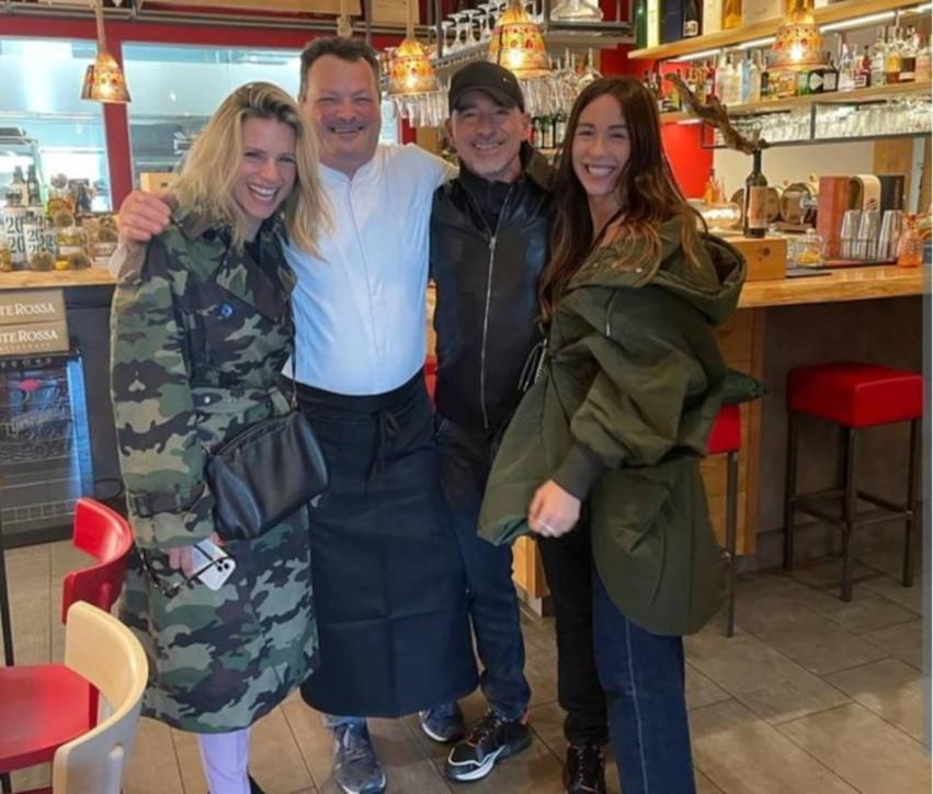 Ramazzotti-Hunziker, reunion a Brescia per il pranzo con Aurora