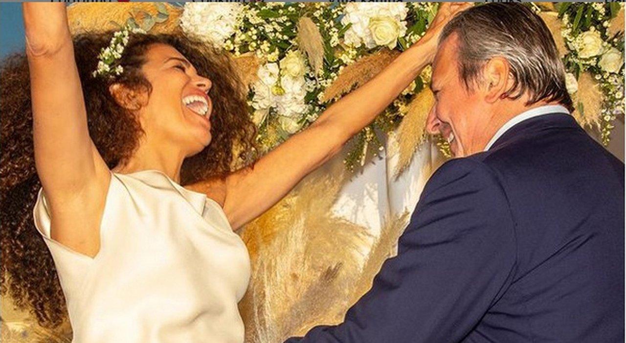 Afef si sposa per la quarta volta. A nozze col manager Alessandro Del Bono: «L'ho fatto ridere!»