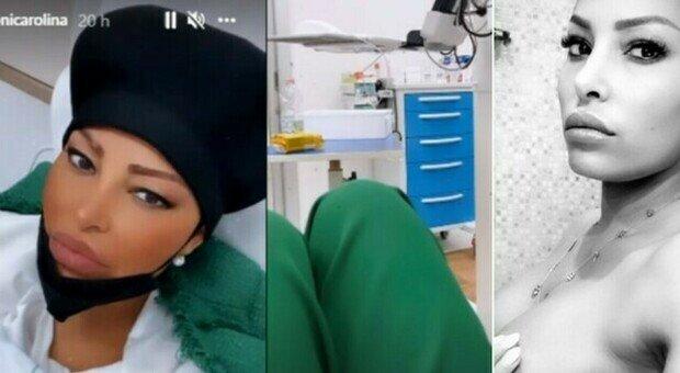 Carolina Marconi e il tumore, ricovero in ospedale: «Mi hanno tolto entrambi i seni, ho paura»