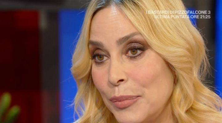 Stefania Orlando, lacrime a
