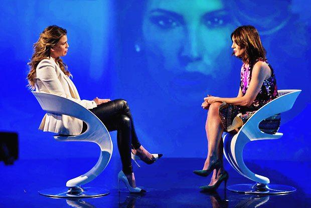Silvia Toffanin, lacrime in diretta a Verissimo: Claudia Galanti la fa commuovere