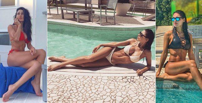 Anna Tatangelo, il buongiorno h. ot su Instagram: il déco. lleté è esplosivo