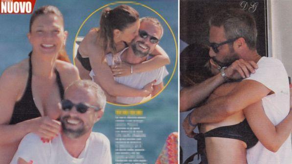 Flavio Montrucchio e Alessia Mancini, fuga romantica a Ponza